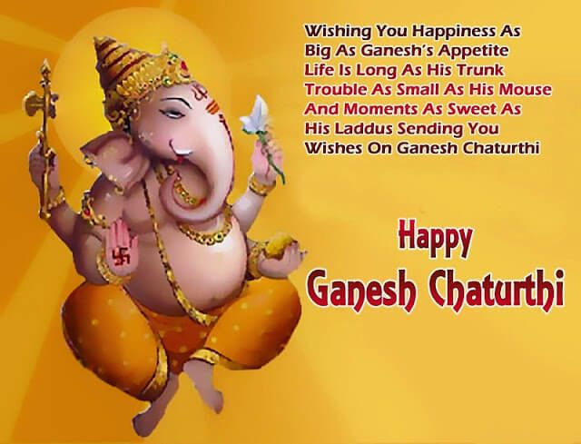Ganesh Chaturthi 2016  Status Wishes Quotes Whatsapp SMS Greetings