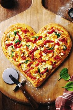 Heart shaped food for Valentine's Day and your wedding