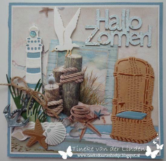 Tineke's kaartenhoekje: Hallo zomer!