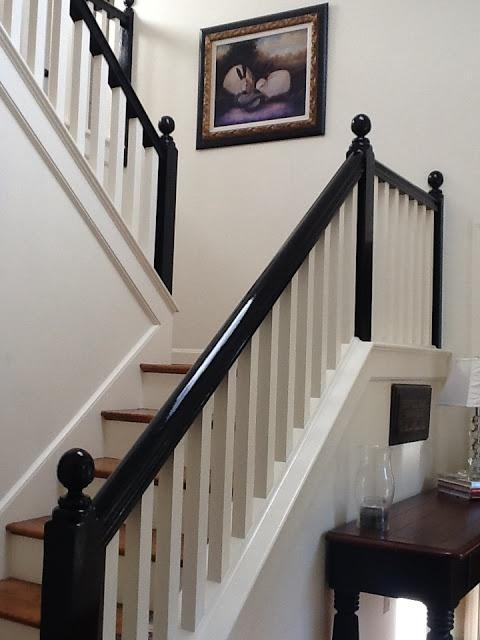 Best 25+ Black banister ideas on Pinterest   Stairs ...