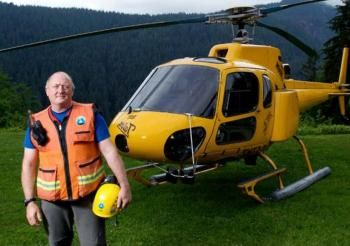 SFU alumni Tim Jones has saved thousand of lives as a volunteer Team Leader of the North Shore Rescue.