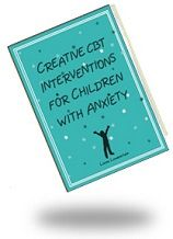 Creative CBT Interventions for Children with Anxiety: This book from best-selling author Liana Lowenstein is an innovative collection of playful, child-friendly CBT activities to assess and treat anxiety symptoms and disorders. Buy it at 20% off with code PC14 at www.lianalowenstein.com  #anxiety, #therapy, #counseling, #play therapy, #psychology, #school counseling
