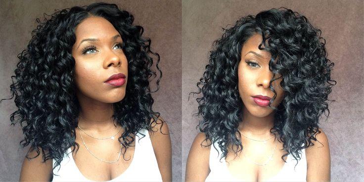 Effortless Already Curled Wig: Friday Night Hair GLS66