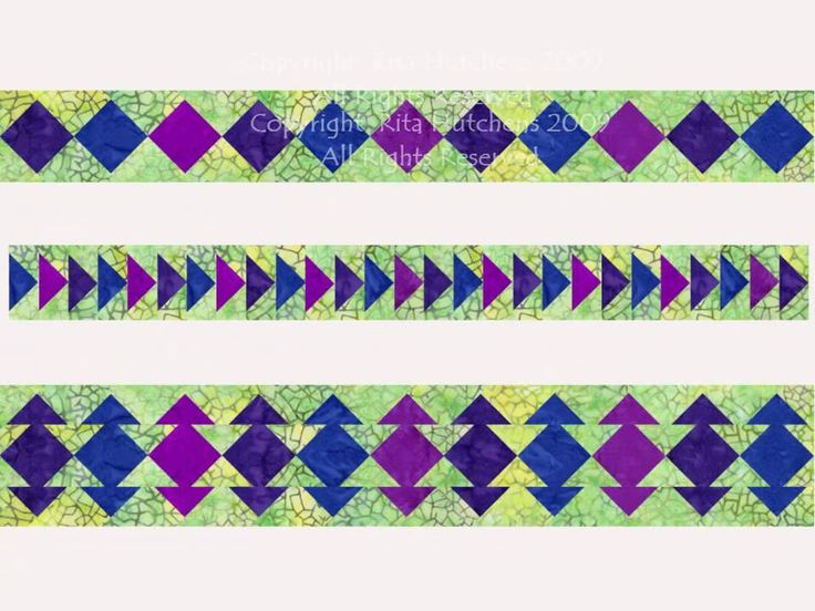 Quilting Designs For Borders : 585 best images about Quilt It - Borders and Sashing on Pinterest Square quilt, Antique quilts ...