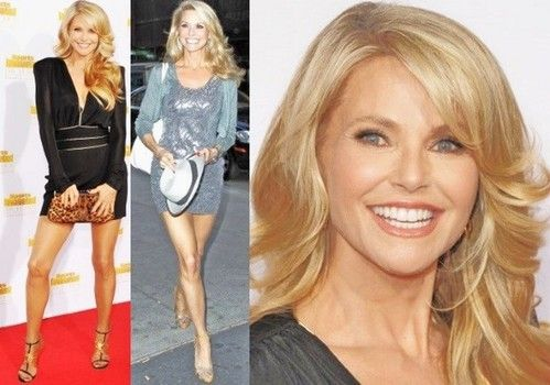 Christie Brinkley said her anti-aging bikini body fitness secrets include a vegan diet and yoga workouts.