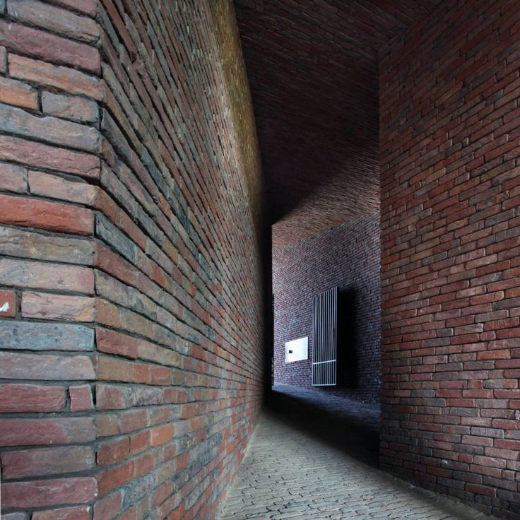House DM / Lensass Architects Brick, Brick detail, Brick