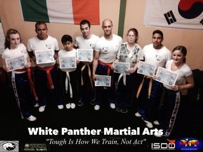 White Panthers Martial Arts & Fitness Club Awards Day