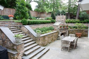 Sloped Backyard Design Ideas, Pictures, Remodel, and Decor - page 14