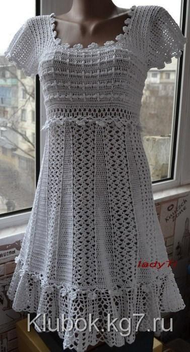 Платье Антония nuo ledi ti   Клубок