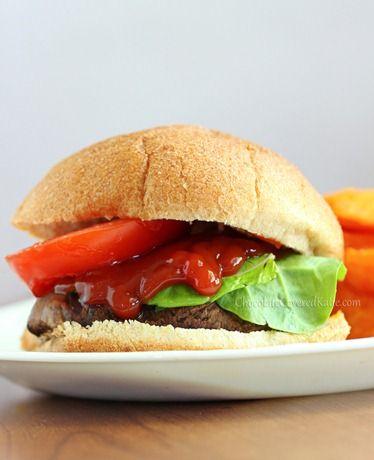Portobello Mushroom Burgers | Recipe | Burgers, Mushroom Burger and ...