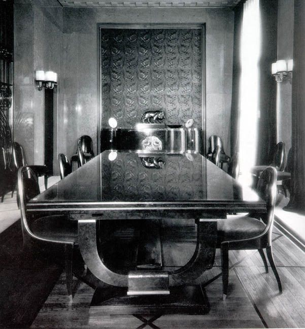 Art Deco Dining Rooms: 561 Best Ruhlmann Images On Pinterest