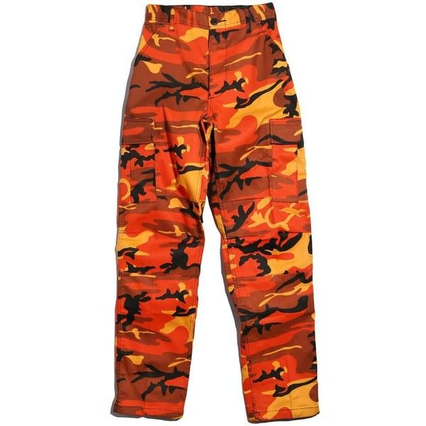 Rothco Camo Tactical Bdu Cargo Pant ($45) ❤ liked on Polyvore featuring pants, camouflage pants, cargo trousers, camoflage pants, camoflauge cargo pants and camo trousers