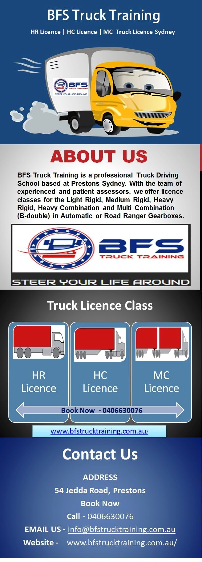 Looking for HR licence in Sydney? Contact BFS Truck Training for best HR licence training and required things. Make a booking now.