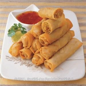 Vegetable Spring Rolls Recipe | Nestlé Family, Middle East | Nutrition, Health & Wellness
