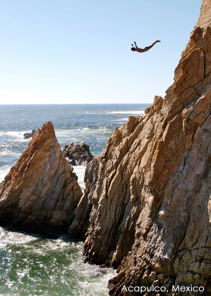 27 best cliff diving images on pinterest cliff diving cliff jump and places to travel - Highest cliff dive ever ...