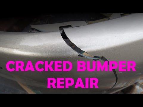 DIY Bumper Crack Repair - YouTube