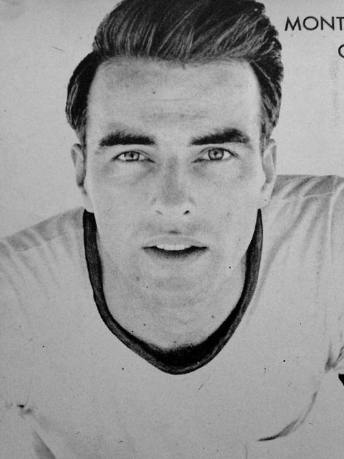 Montgomery Clift. There are few actors I care for but Montgomery is brilliant...and that face....