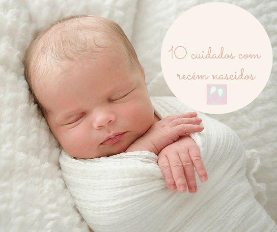 cuidados com recém nascido