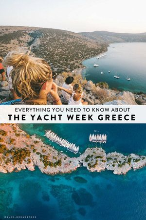 Everything you need to know about The Yacht Week Greece. A complete itinerary