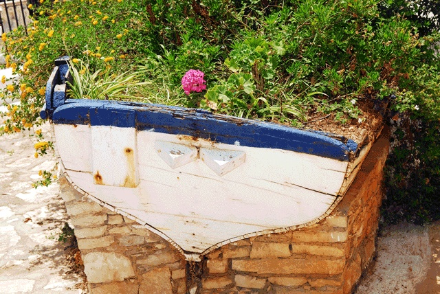 The Flowerbed formerly knows as 'Boat': #Kasterlorizo Island, #Greece (Also #Castelorizo or #Megisti) the easternmost #Greek Island Source: Official Tourism Site http://www.megisti.gr