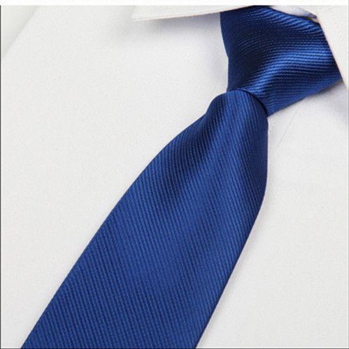 silk mens ties 2014 8cm royal blue necktie silk tie gravatas masculinas corbatas seda free shipping no minimum order Lote