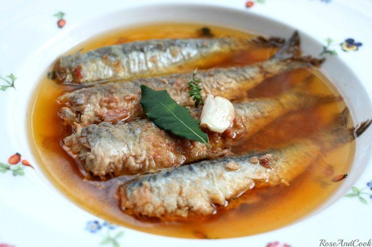 Sardines à l'escabèche recette familiale