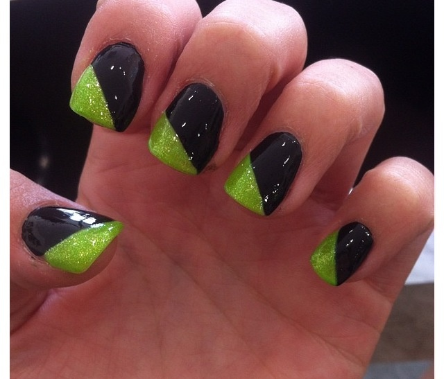 Black and green nails  https://lifestylechange.myitworks.com/Home