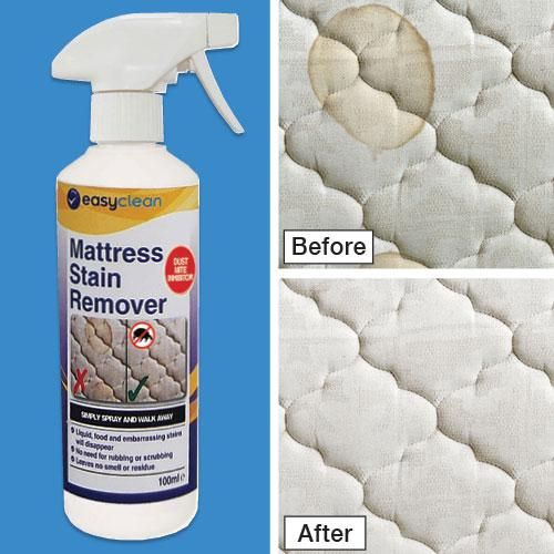how to clean and sanitize a bed mattress
