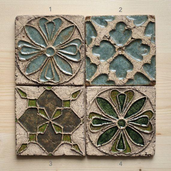 Oltre 25 fantastiche idee su piastrelle di ceramica d 39 arte - Made a mano piastrelle ...