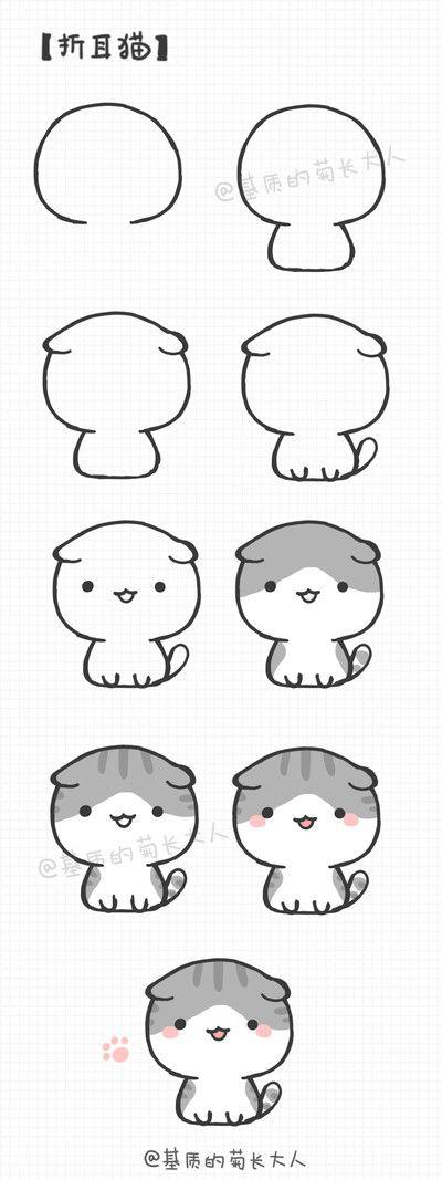 Como dibujar un gatito kawaii and like OMG! get some yourself some pawtastic adorable cat apparel!