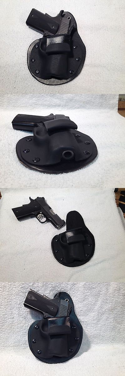 Holsters 177885: Kimber Ultra Carry Ii Iwb Holster Paddle 1911 3 Inside Waist Band Leather Kydex -> BUY IT NOW ONLY: $38.63 on eBay!