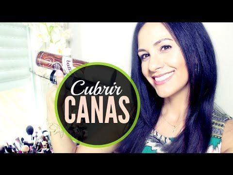 OLVIDATE de las CANAS! tips y consejos de como cubrir perfectamente las canas - YouTube