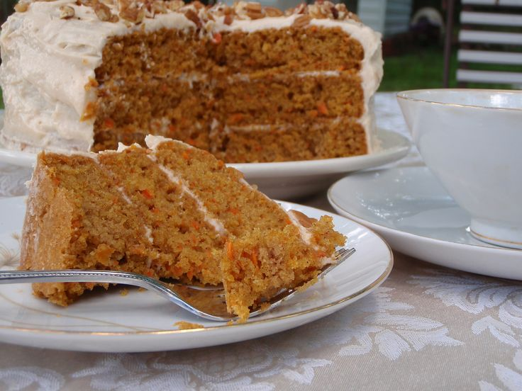 Carrot Cake With Amarula Frosting...Great Combination!