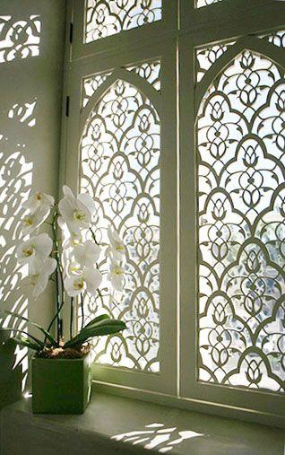 entrance window.
