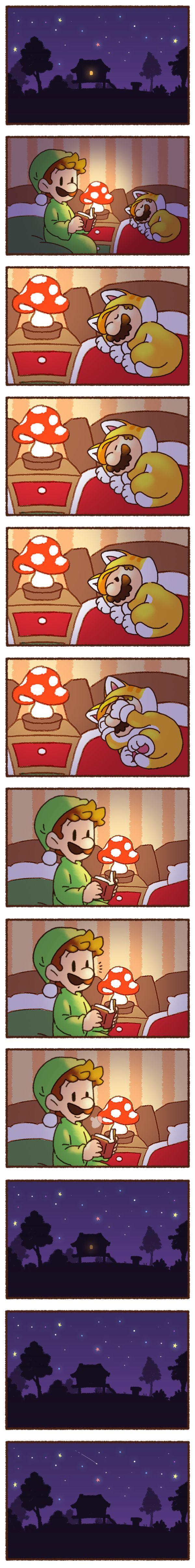 #Mario #Luigi #comic