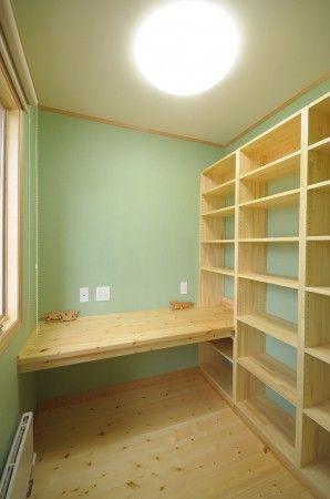 オリジナル書斎デスク・本棚