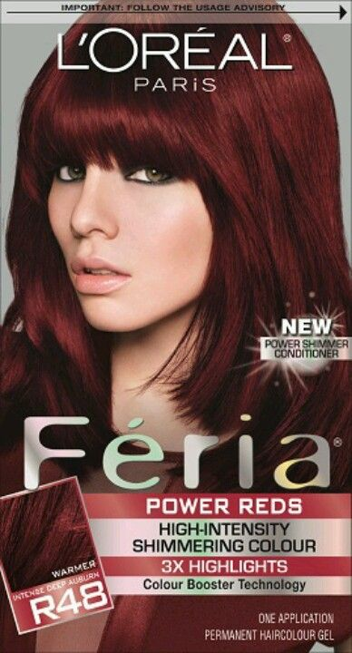 3436 best reds images on pinterest hairstyles hair coloring and best diy color in a box love this red intense deep auburn pmusecretfo Gallery