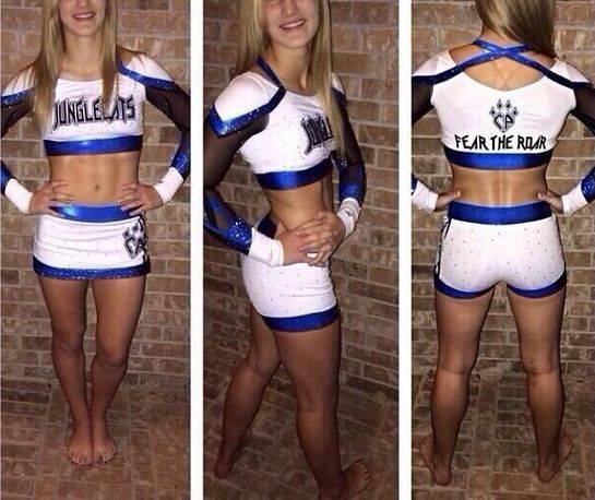 Rebel Athletic for Cheer Athletics.