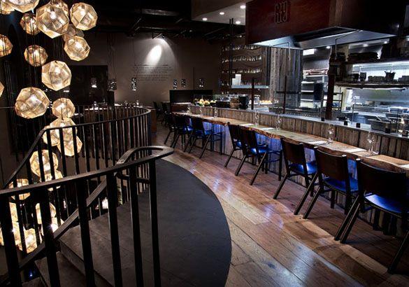A trendy restaurant in Reykjavik, Iceland: The Grill market