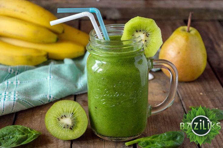 Зеленый витаминный смузи/смусси