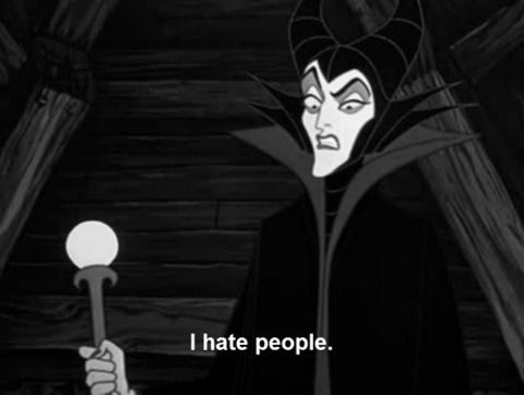 Malificent knows whats up