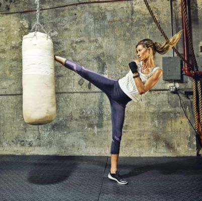 How Gisele relieves stress, post-election? Boxing