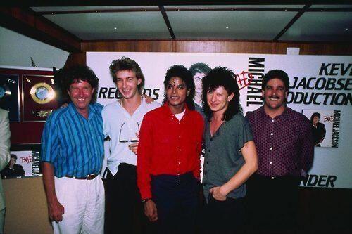 Michael Jackson with Wa Wa Nee