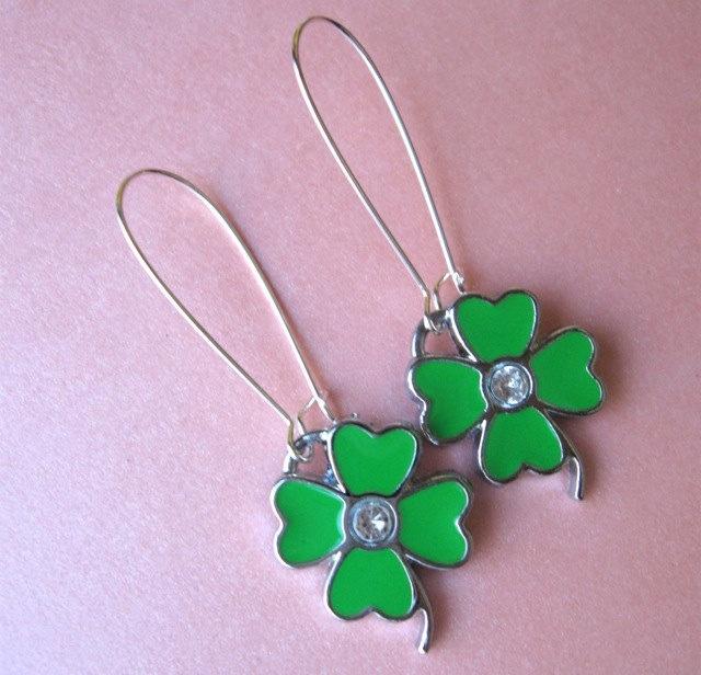 96 best DIY St Patrick\'s Day images on Pinterest | Earrings, Leaf ...