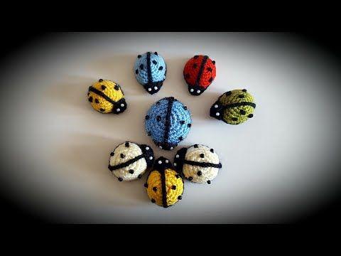 Buzdolabı Süsü Magnet Uğur Böceği Yapımı - YouTube