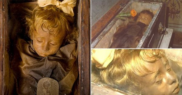 http://ift.tt/2kmmGxZ Rosalia Lombardo dubbed as the worlds most beautiful mummy was well embalmed that even after 100 years this tiny corpse looks more or less as if it is just sleeping.