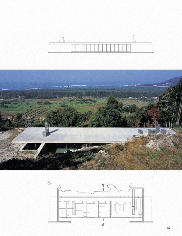 Souto de Moura - Casa em Moledo (1991-1998)