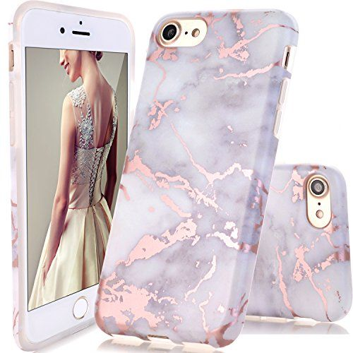 apple iphone 7 silicone case marble