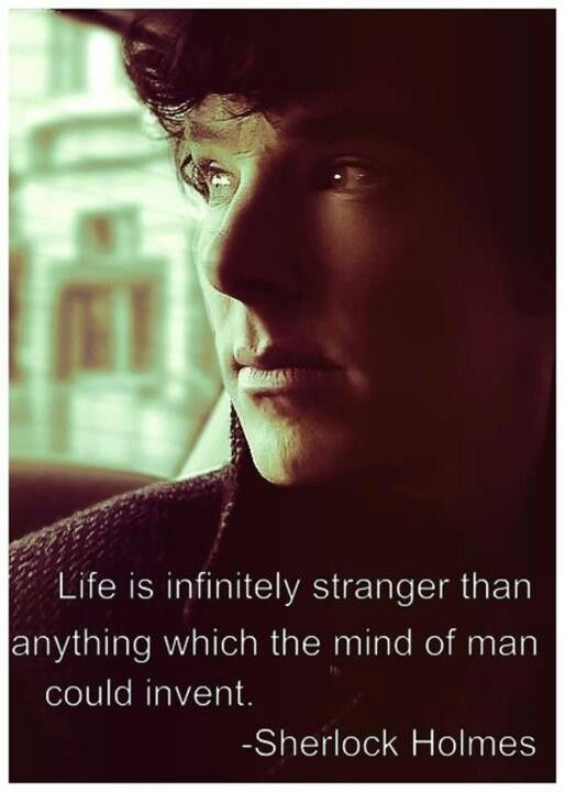 From the original Adventures of Sherlock Holmes. You should read the books; they're really good!