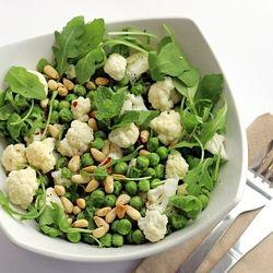 Peas, Cauliflower and Rocket Salad. OH YES PLEASE!   Nourishment ...